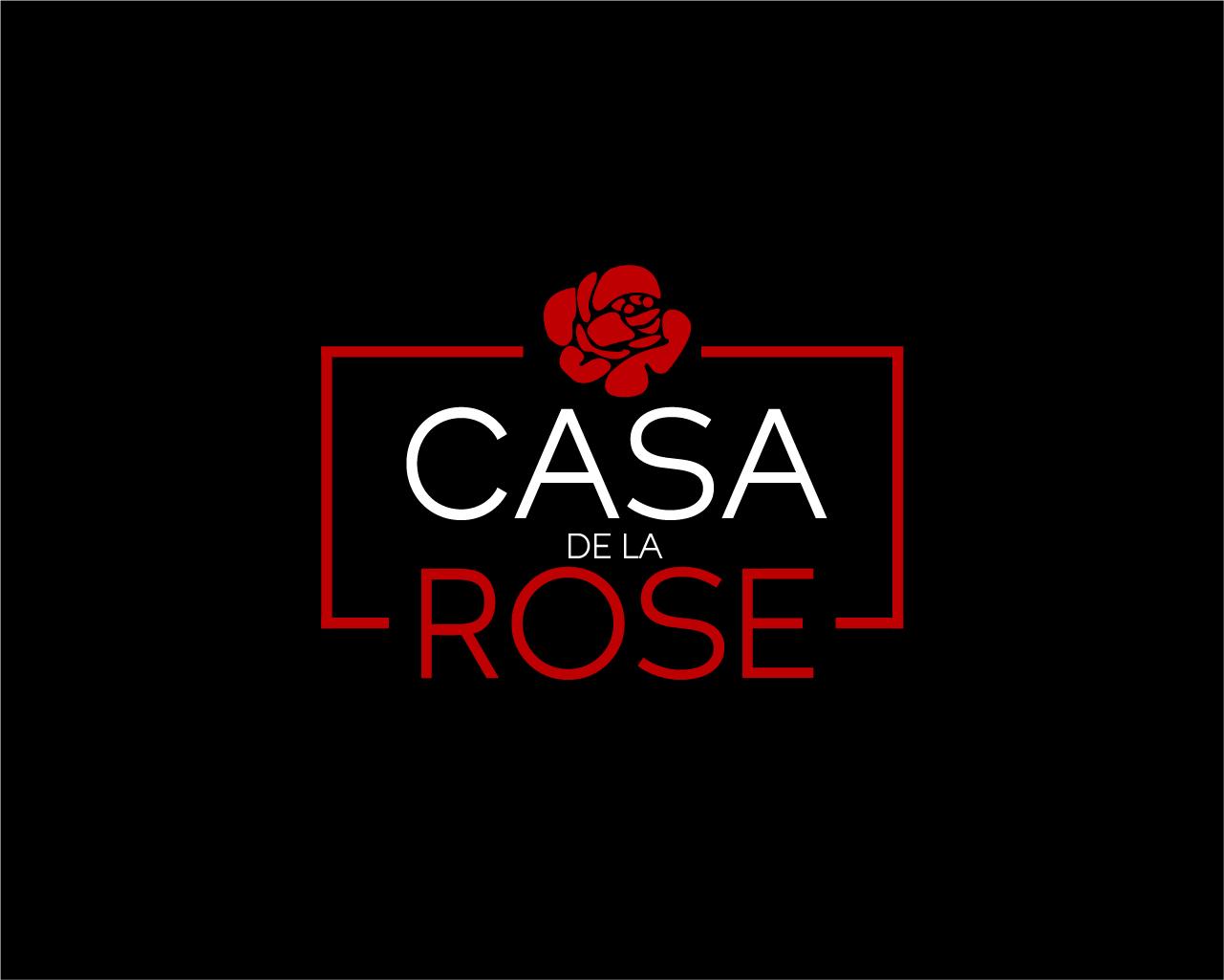 Логотип + Фирменный знак для элитного поселка Casa De La Rosa фото f_2915cd465c971973.jpg