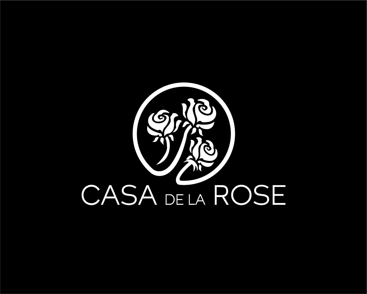 Логотип + Фирменный знак для элитного поселка Casa De La Rosa фото f_3715cd465a1abc96.jpg