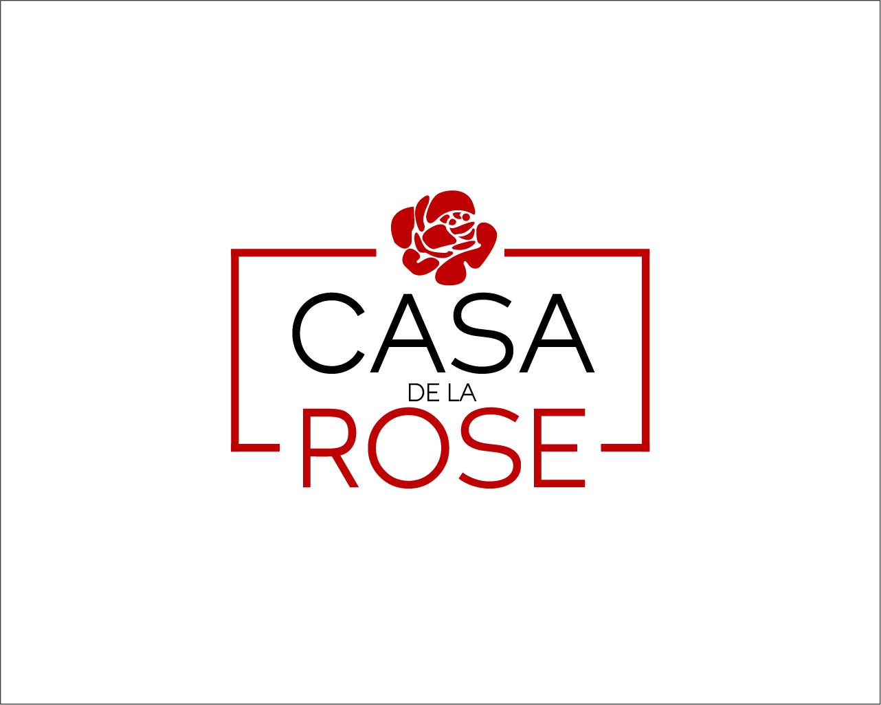 Логотип + Фирменный знак для элитного поселка Casa De La Rosa фото f_4235cd465be5a3e4.jpg