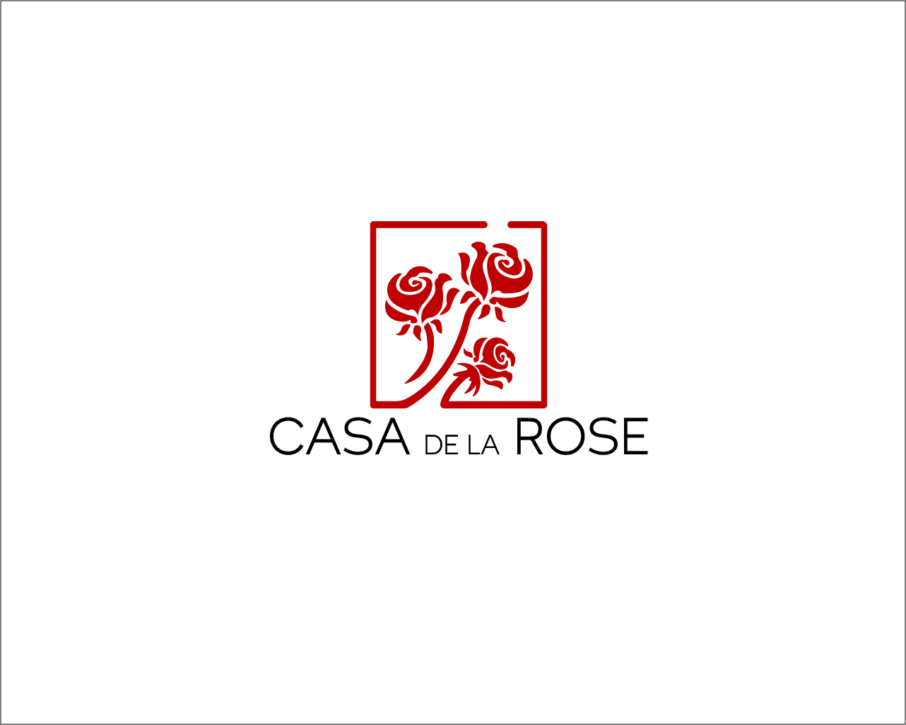 Логотип + Фирменный знак для элитного поселка Casa De La Rosa фото f_9965cd4653733663.jpg