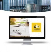 доработка логотипа и фирменный стиль для строительной компании