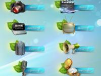 Создание больших иконок для сайта (техдизайн)