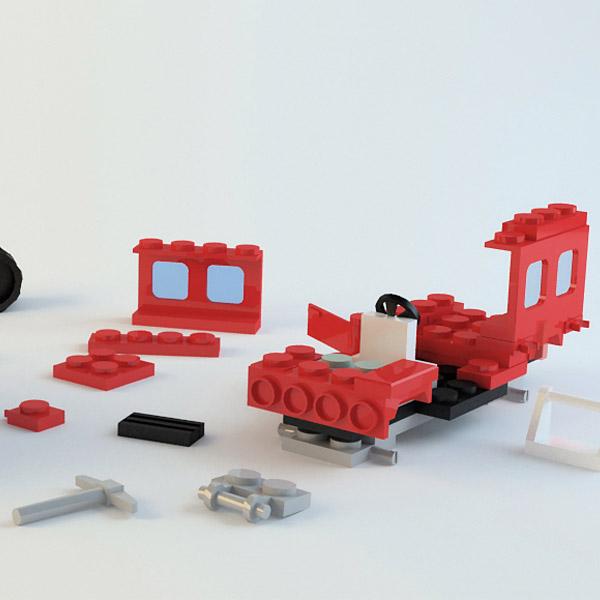 Машинка lego