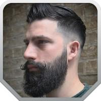 Лэндинг с товарами для ухода за мужскими бородами