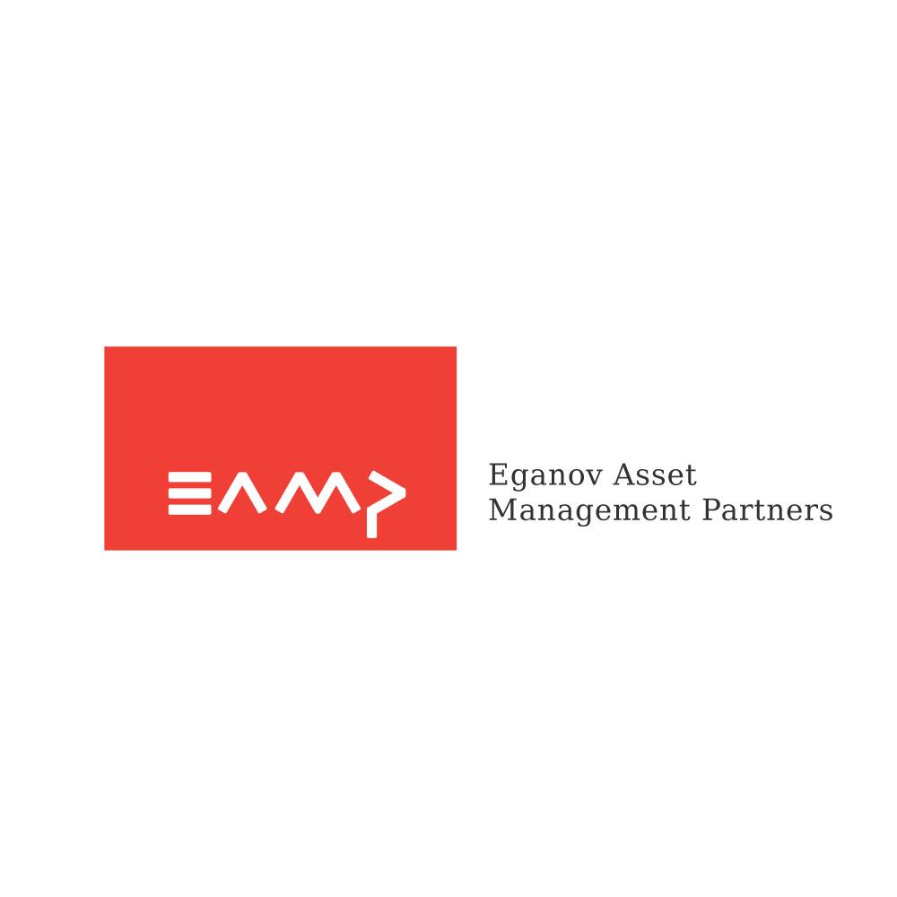 Вариант логотипа для Eganov Asset Management Partners