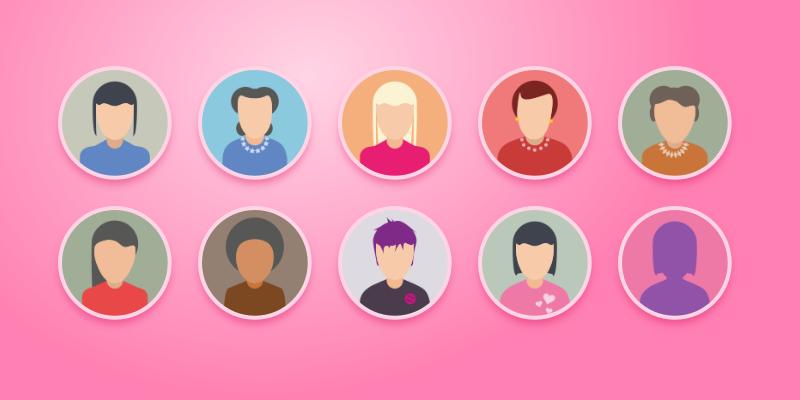 Аватары для женского форума