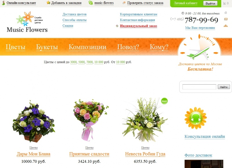 Music Flowers