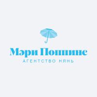 Логотип для агентства нянь Мэри Поппинс