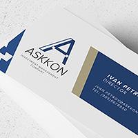 """Логотип и фирстиль """"ASKKON"""""""