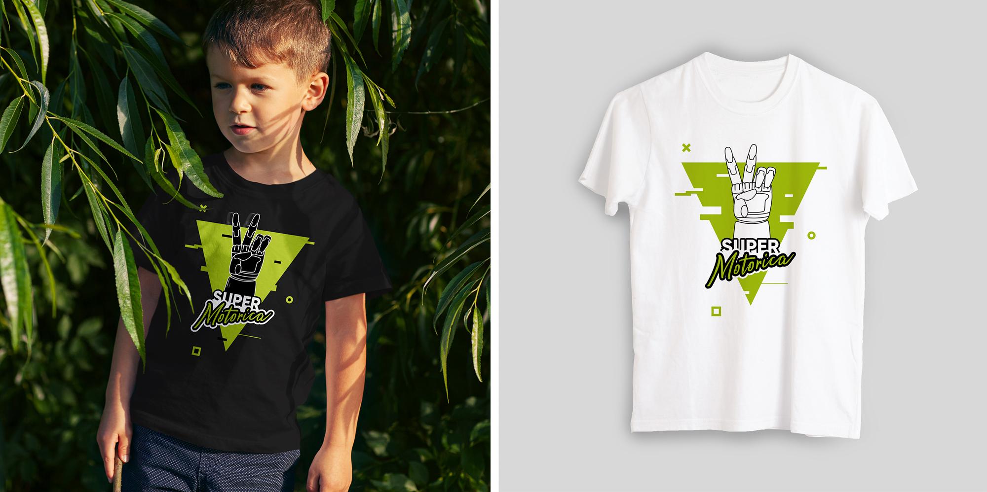 Нарисовать принты на футболки для компании Моторика фото f_00560a185e414a81.jpg