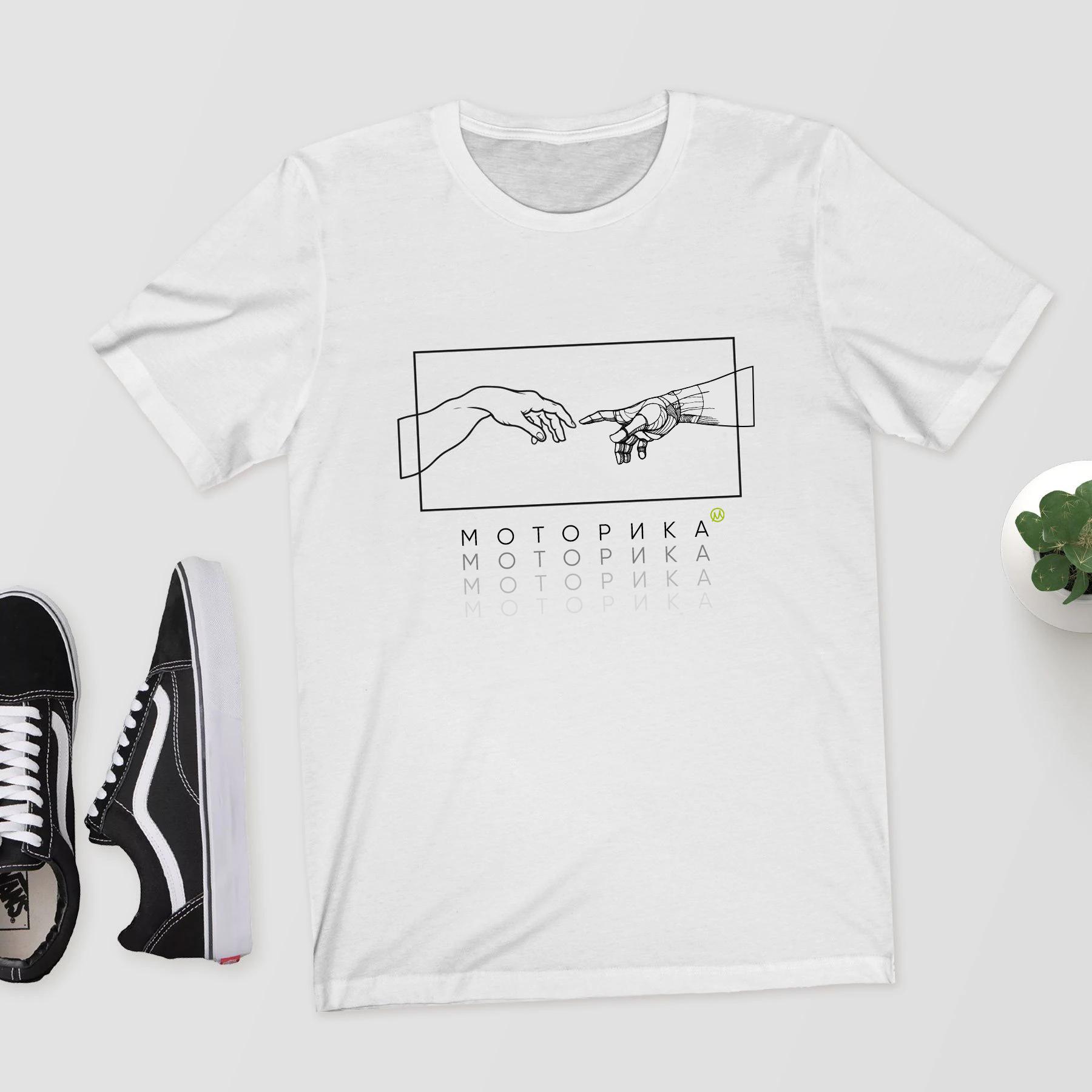 Нарисовать принты на футболки для компании Моторика фото f_360609edd8d5a85d.jpg