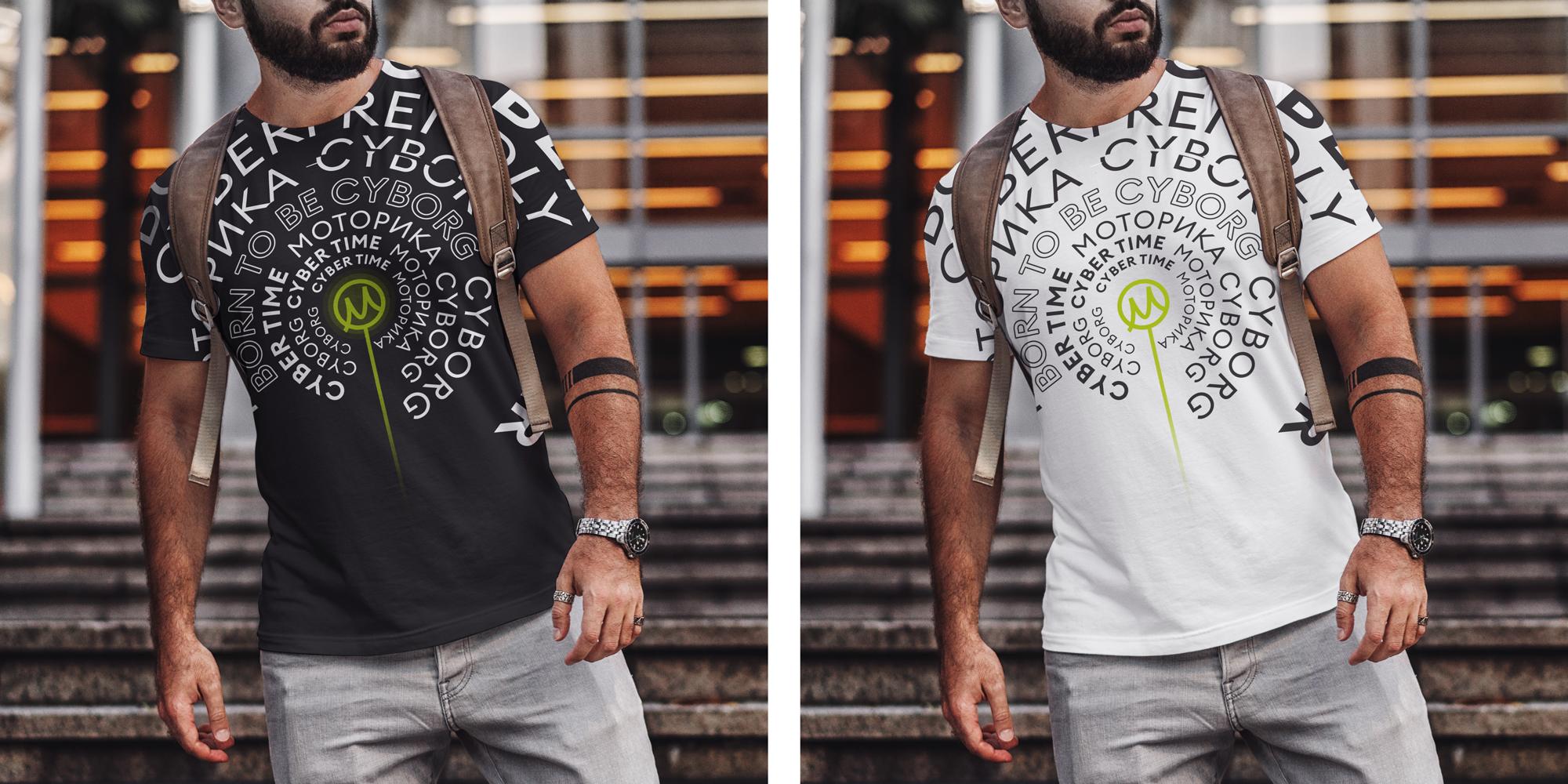 Нарисовать принты на футболки для компании Моторика фото f_43160a146ebef4a7.jpg