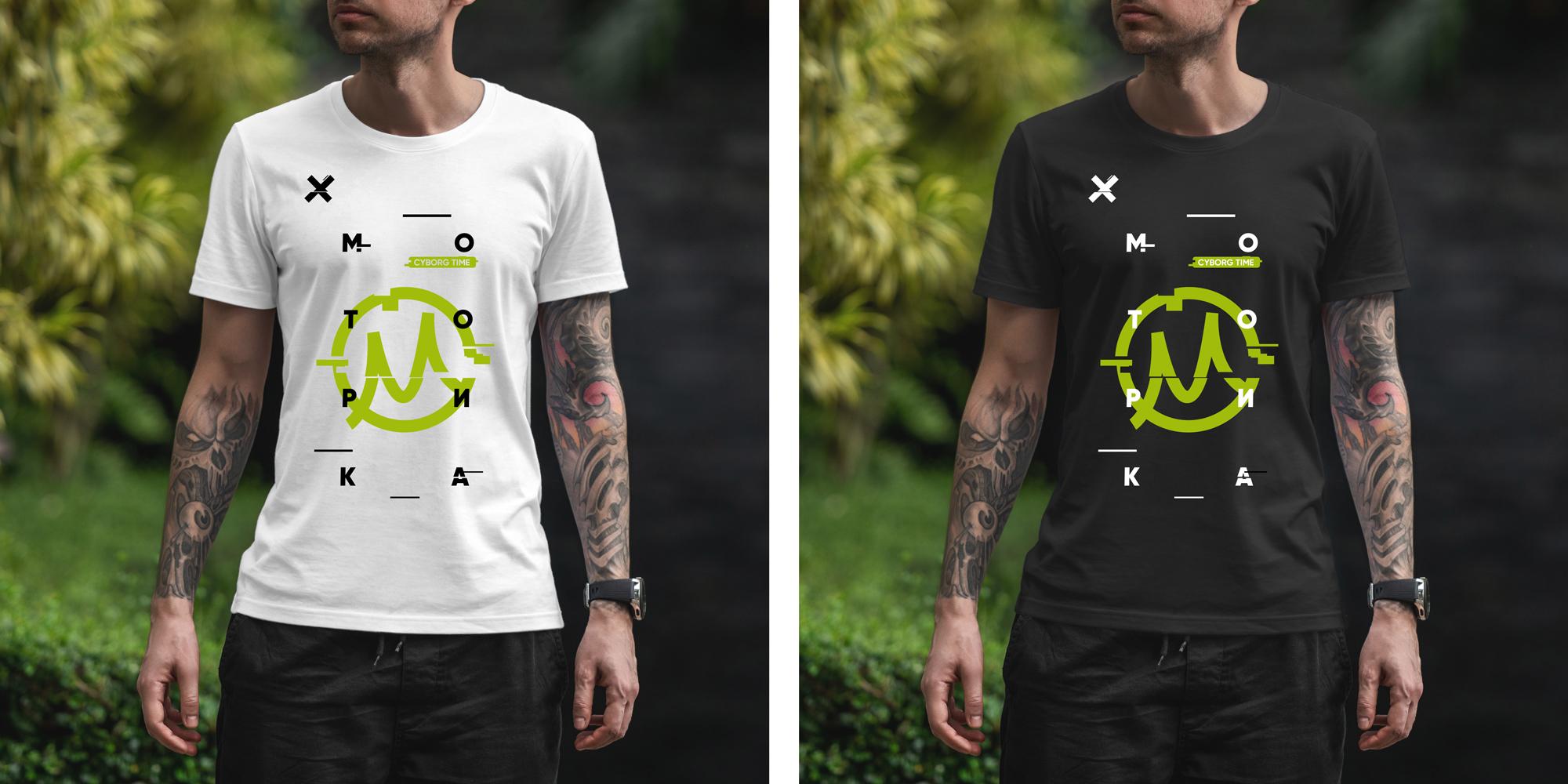 Нарисовать принты на футболки для компании Моторика фото f_84960a1467ca417c.jpg