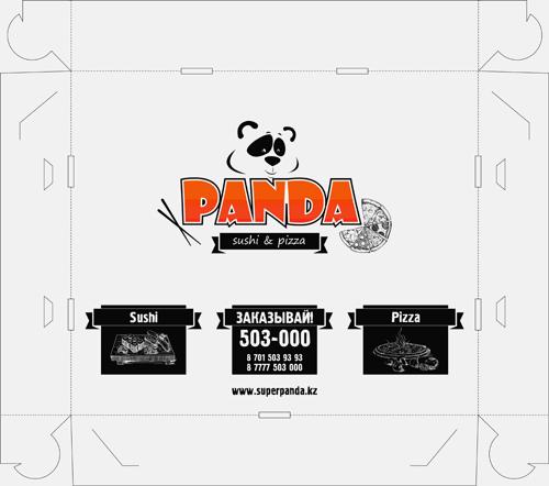 Дизайн упаковки (коробка) для доставки суши №1 фото f_124541c2857db869.jpg