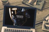 Корпоративный сайт-портфолио тату-салона и школы Salem
