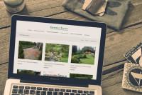 Корпоративный сайт-портфолио для студии ландшафтного дизайна GreenForm