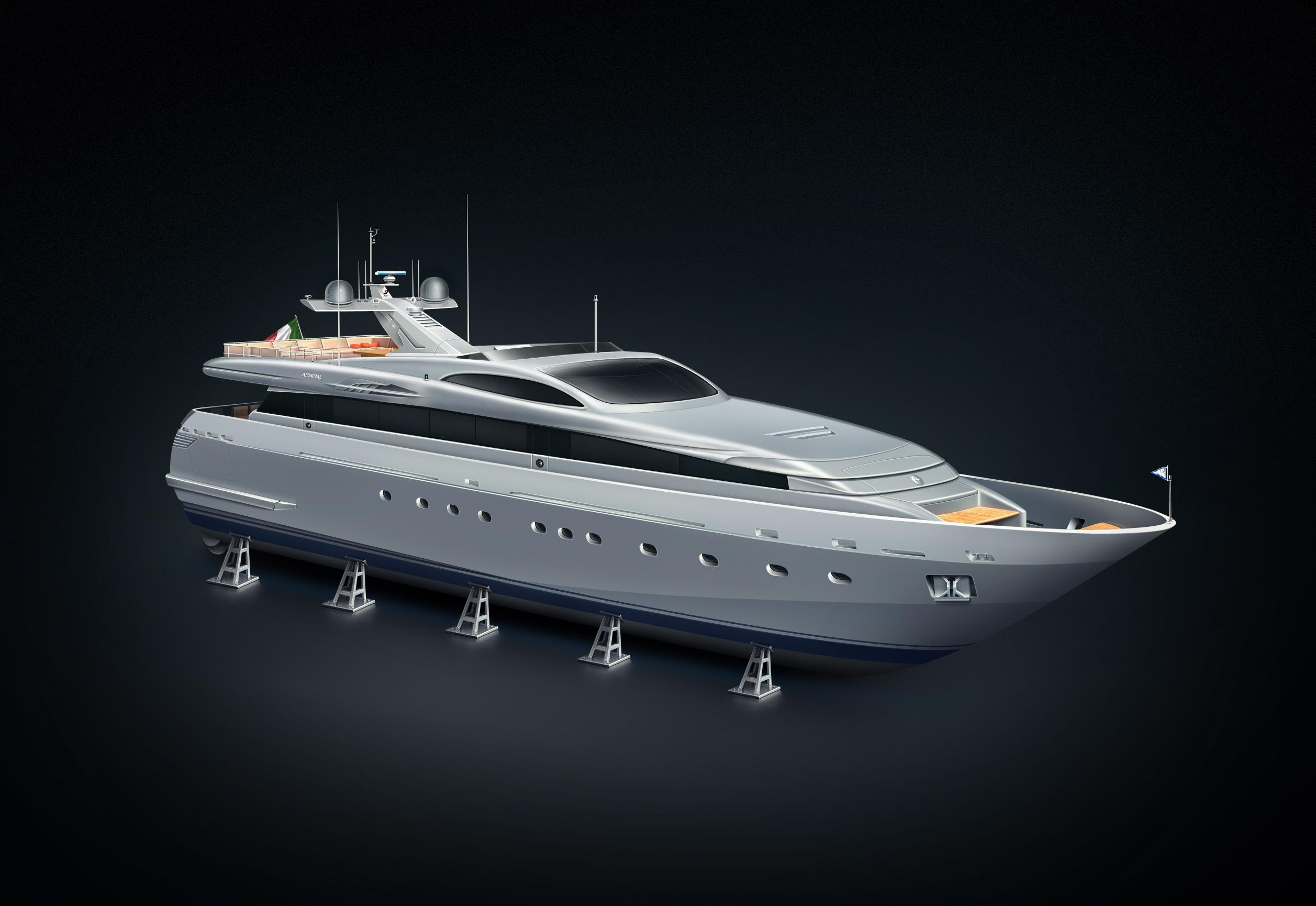 Super yacht Admiral 40MT Aqua