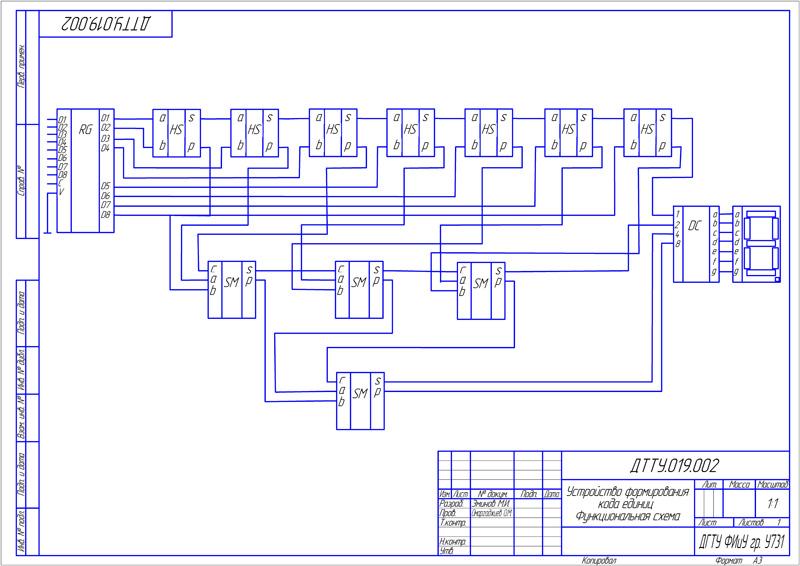 Функциональная схема устройства.  Мурад Эминов Wswsws05.