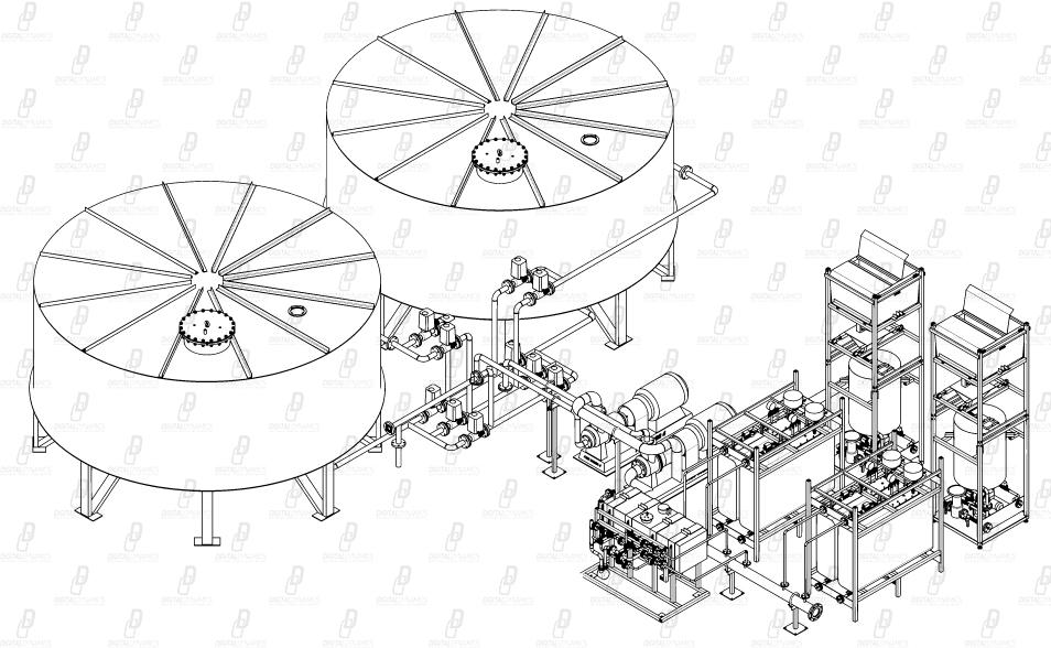 Отрисовка оборудования для последующей SVG анимации