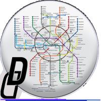 SVG московский метрополитен
