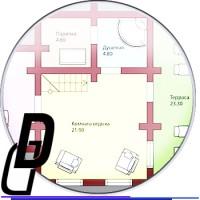 Отрисовка планировок домов в векторе