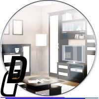 Монтаж облицовки фасада мебели