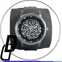 Отрисовка векторного фона для циферблата часов (мусульманская тематика)