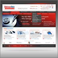 Дизайн сайта для Salvage Data Recovery