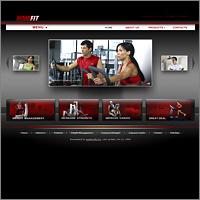 Дизайн сайта для Home Fitness