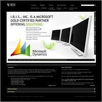 Дизайн сайта для компании I.B.I.S.