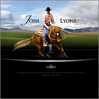Дизайна сайта для Josh Lyons (США)