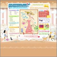 Дизайн сайта для Cleverly Gifted