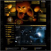 Дизайн промо страницы