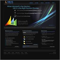 Дизайн вебсайта IT компании