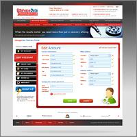 Дизайна интерфейса портала для клиентов