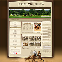 Дизайна сайта конного спорта