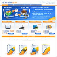 Дизайн сайта для EntireOne Marketplace