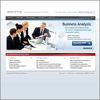 Веб сайт для Binartus