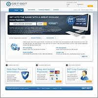 Дизайн сайта GetDot