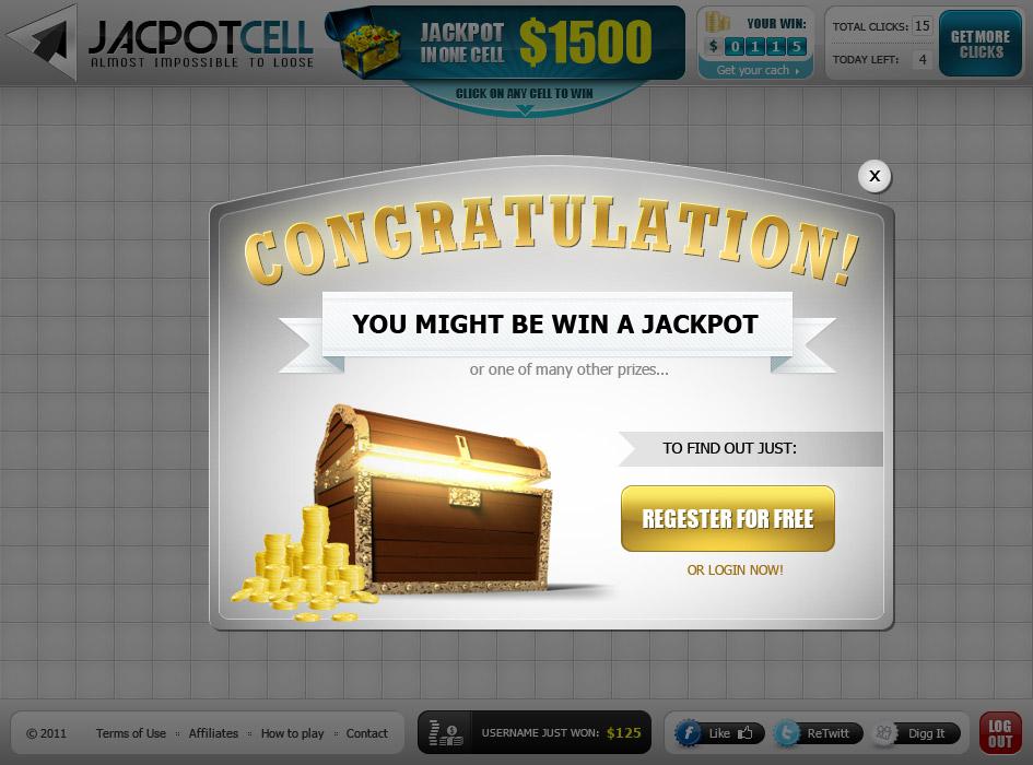 Игра на деньги Jacpotcell