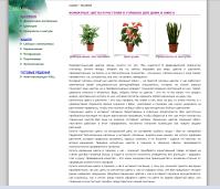 Тексты для сайта растений greenoffice.ru
