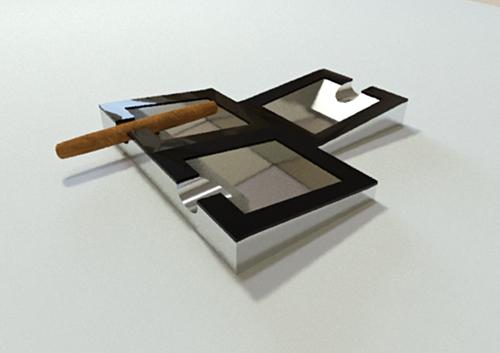 Дизайн пепельницы для сигар (не сигарет) фото f_173584d86ee63ed7.jpg