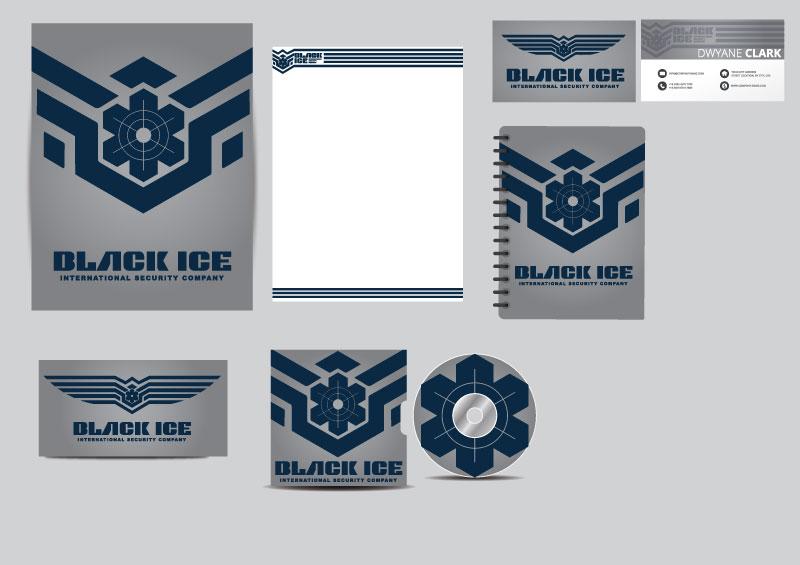 """Логотип + Фирменный стиль для компании """"BLACK ICE"""" фото f_4565714d4f160381.jpg"""