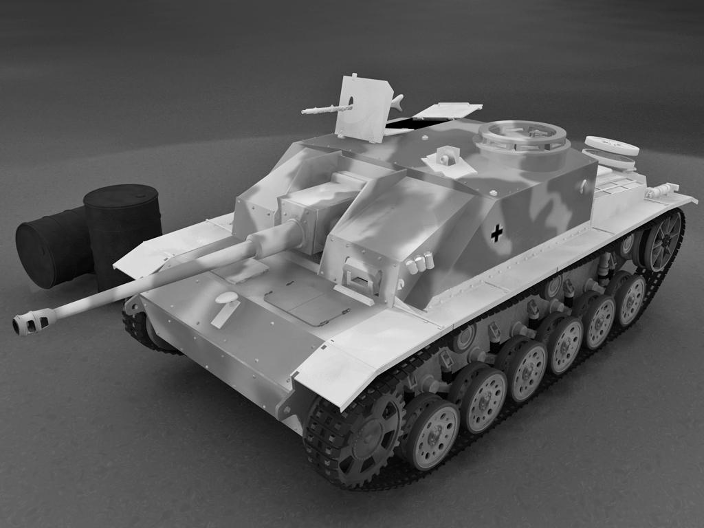 Самоходная установка Stug IV
