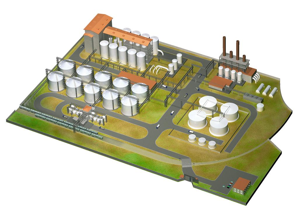 Проект этилового завода для SPP Group