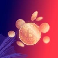 Обложка для группы в ВК по обучению инвестирования в криптовалюты