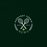 Логотип для новостного блога о теннисе