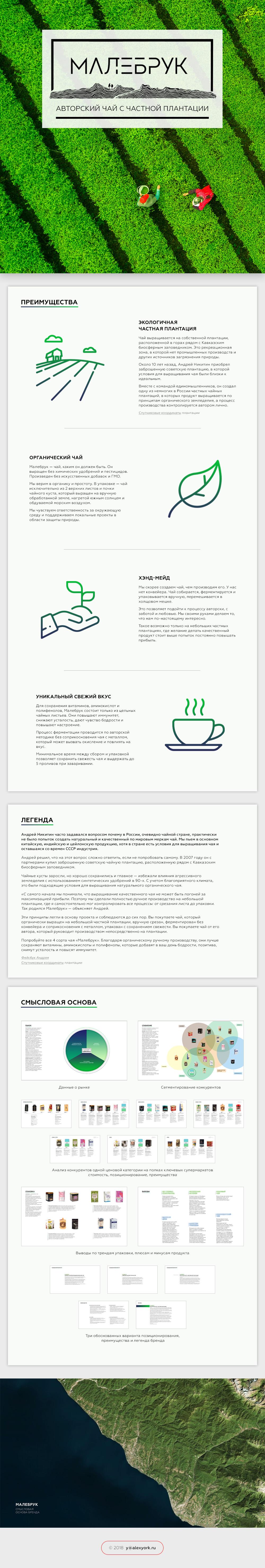 Смысловая основа бренда органического чая