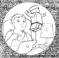 Сценарий и раскадровка для детского конструктора