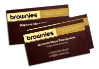 "Личная визитка ""Брауниз"""